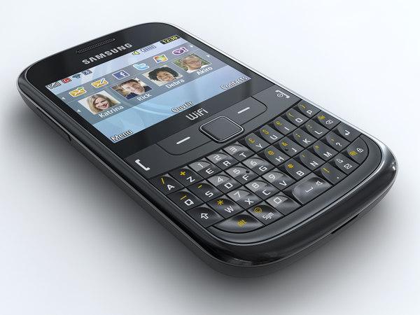 samsung chat 335 mobile phone obj