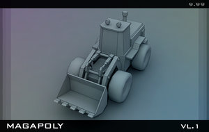 Bulldozer Wheel Loader