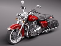 3d harley davidson road king