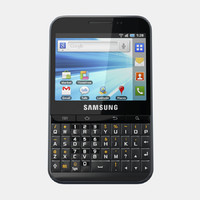 samsung galaxy pro b7510 3d model