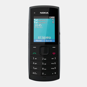 nokia x1-00 3d model