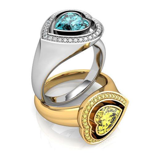 ring heart 3d 3ds