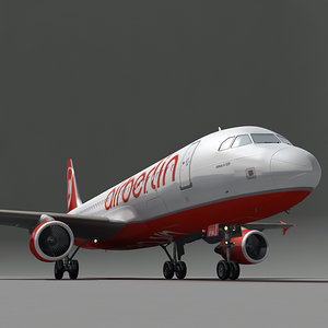 obj airbus a320 airberlin