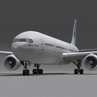 777-300 Generic White
