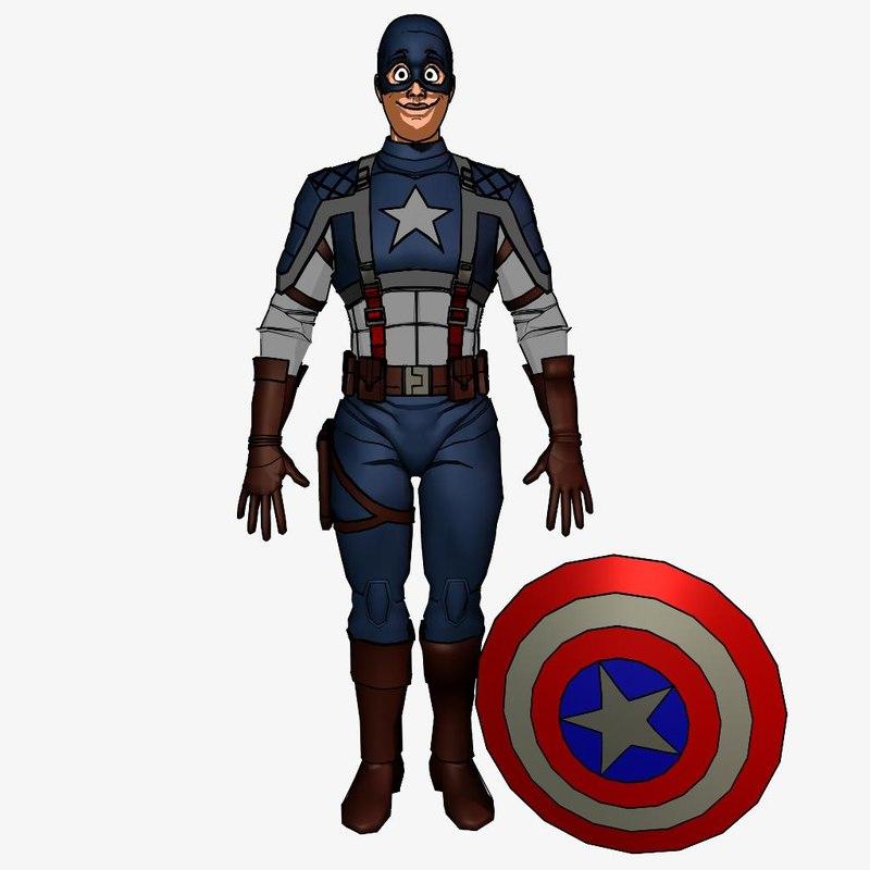 maya toon captain america