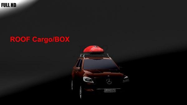 max roof cargo box