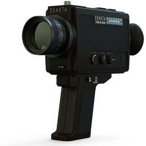 3d exakta cine m 6000 model