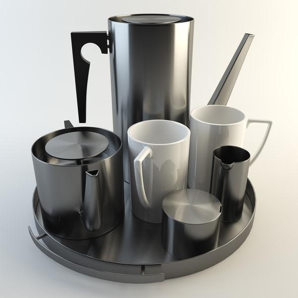 3d arne jacobson tea coffee