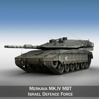 merkava iv battle tank 3ds