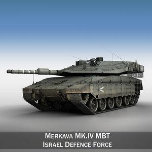 merkava iv battle tank 3ds