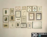 3d model frames pack 1