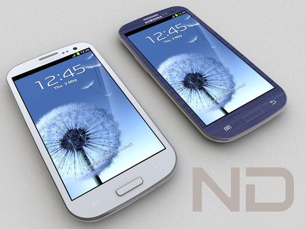 samsung galaxy s 3d model