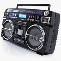 3d model boombox lasonic i931