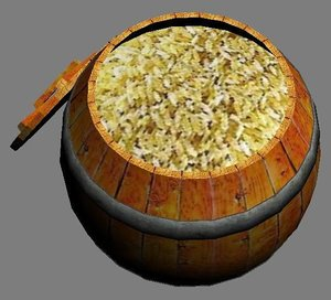 Rice Barrel