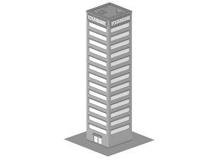 C4D Building