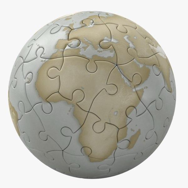 ball puzzle 3d max