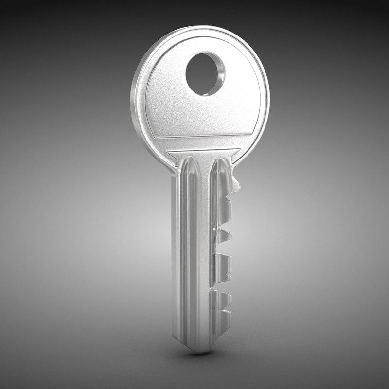 3d max house key