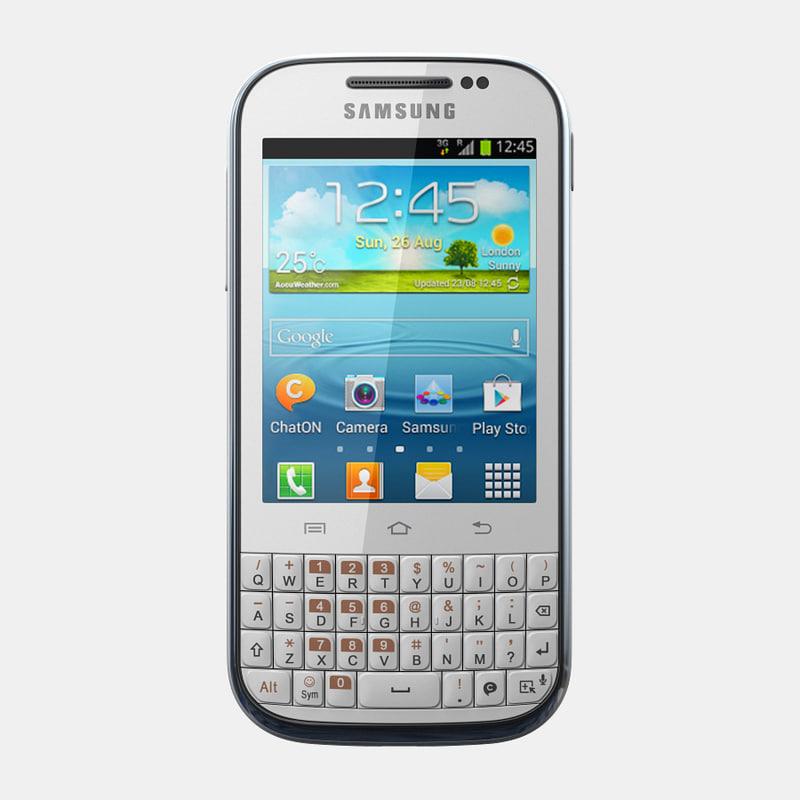 samsung galaxy chat b5330 3d max