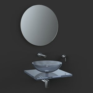 small washbasin obj