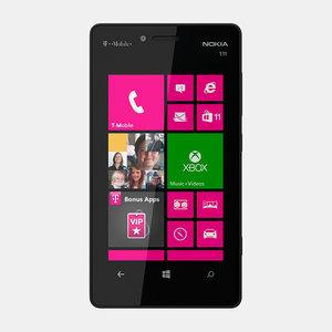 3d nokia lumia 810 model