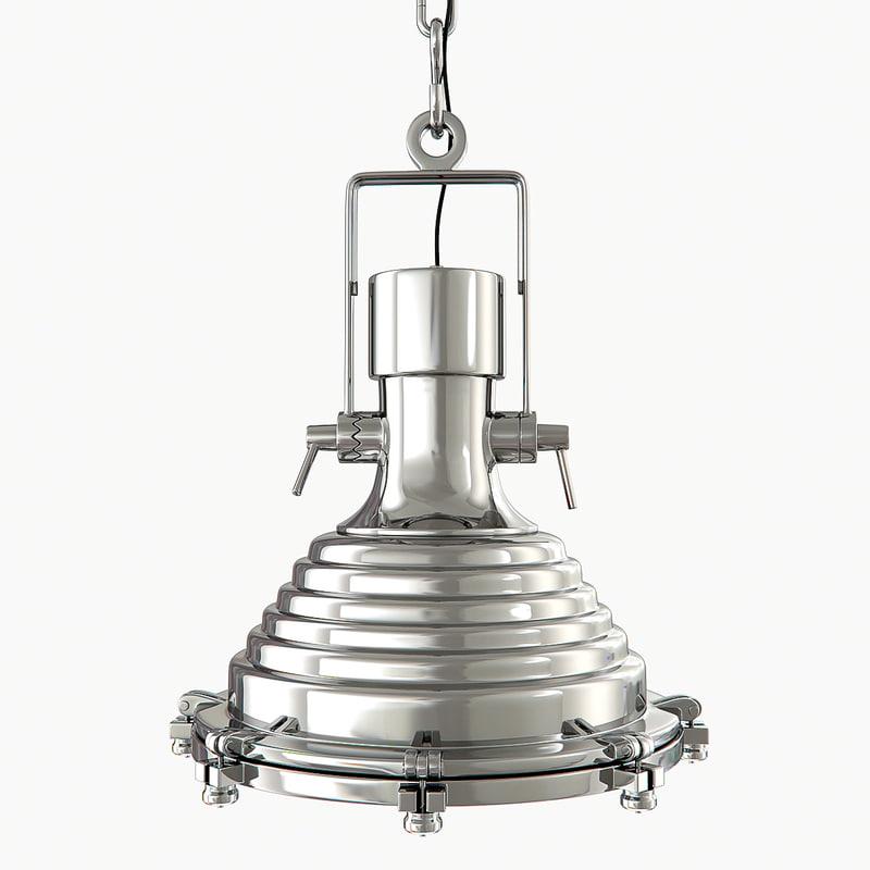 3d lamp maritime