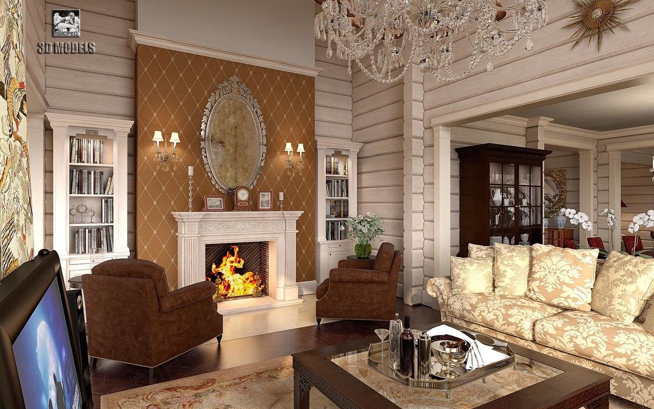 big house interior scene max