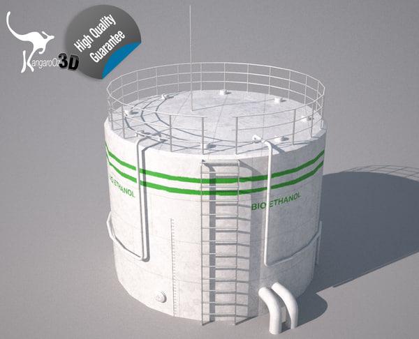 tank bio ethanol 3ds