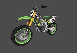 dirtbike 3d model