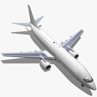 boeing 737-400 3d model