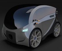 Compact electric concept car 3