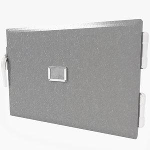 Small Metal Safe Door