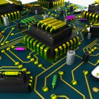 HD Circuit Board City