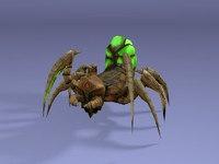 3ds max spider animation