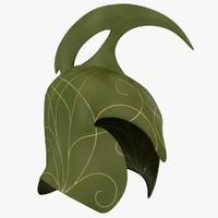 3d helmet model