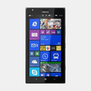 nokia lumia 1520 mobile phone 3d model