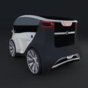 Compact electric concept car 6