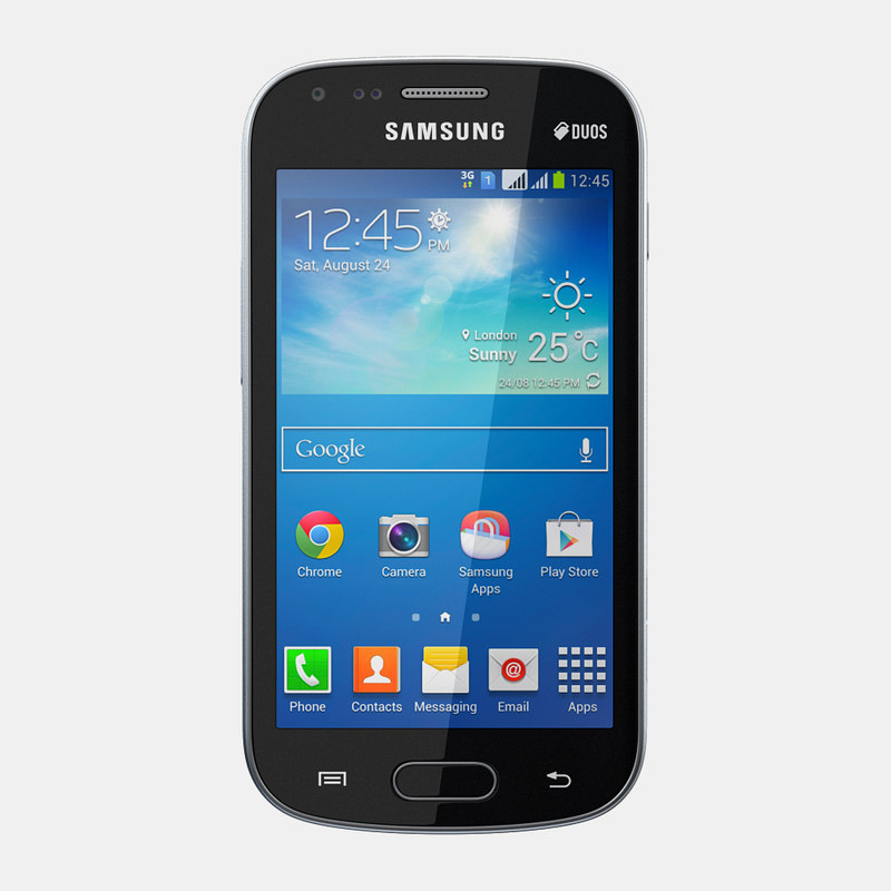 3d samsung galaxy s duos model