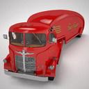 fine liquor streamlined truck 3d 3ds