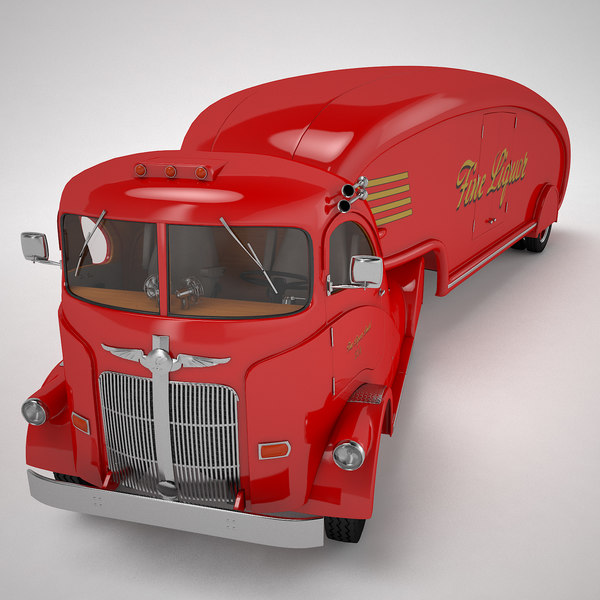 fine liquor streamlined truck 3d 3ds