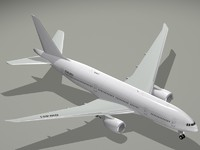 3d boeing 777-200 lr 777 model