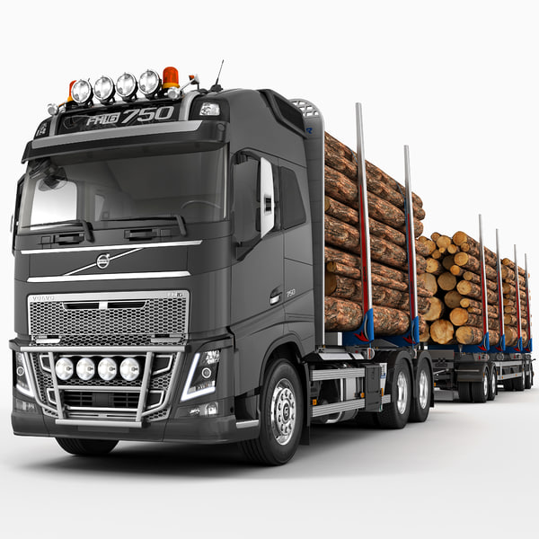 max fh timber trailer truck