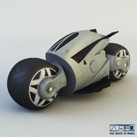 cyber cycle 3d max