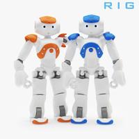 Rigged Robot Nao