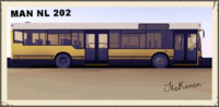 3d man bus