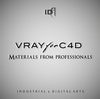 Professional Vray Materials for C4D