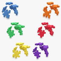 Happy Cube Set (ANIMATED)