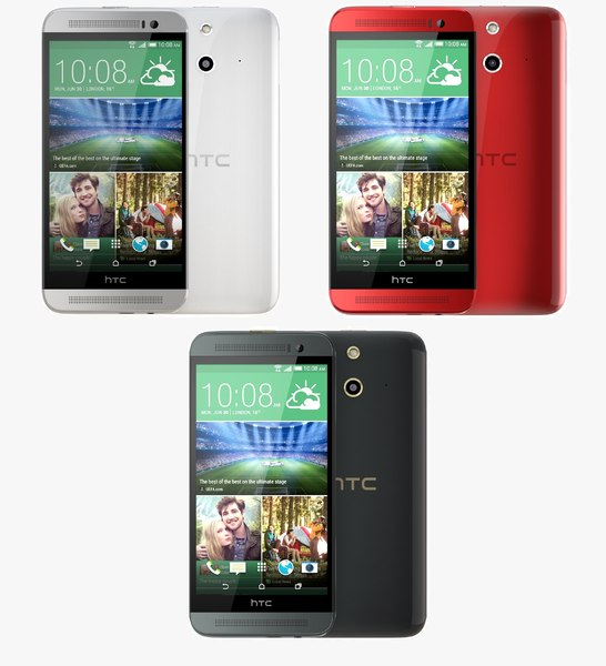 3d model htc e8 color