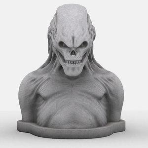 bust alien 01