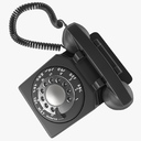 rotary phone 3D models