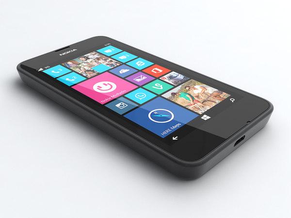 3d nokia lumia 635 model